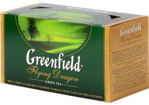 Flying Dragon green china tea 25