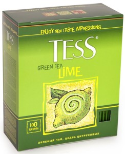 Green Tea Lime new 100 п.