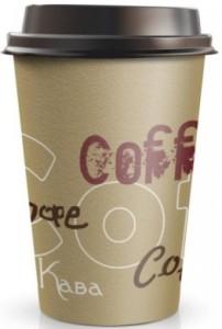 СТАКАН БУМАЖНЫЙ ОДНОРАЗОВЫЙ 350 МЛ COFFEE (50ШТ)